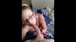 sucking on daddy