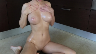 Oiled girl fucks herself by toy - Mini Diva Made korean
