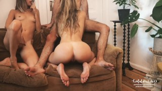 LeoLulu x Lele O - Jerk Off Instructions for Couples // Short Version Drunk petite