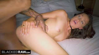 BLACKEDRAW New York Teen Can't Resist The BIGGEST BBC In The World Cock blowjob