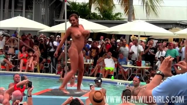 Wild swallow fest slut load - Sexy sluts pool party fantasy fest 2