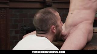 MormonBoyz - Teen takes Mormon President Cock Raw porno