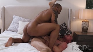 NoirMale Rough Interracial Sex With Sexy Muscle Hunk Big Dick Boys Buttslut big