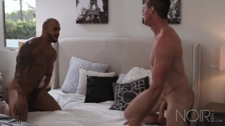 Big boys muscle interracial hunk noirmale dick rough sex with sexy hunk big