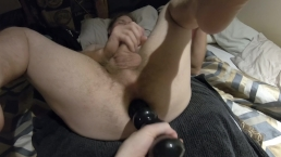 Big Bear Ass Dildo Fuck - www.onlyfans.com/flint-wolf