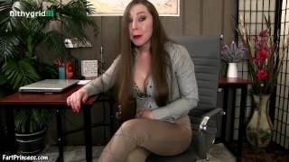 Therapy session farts with Kristi Butt public