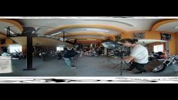 Backstage Jarushka Ross - BikesandBabes.TV Sexy VR clip - 3DVR360 Up/Down