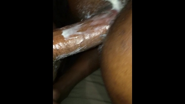 Creams Over & Over On Daddy (CumShot)