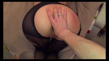 Hot doggystyle fuck in pantyhose