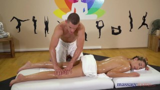 Masseur massage studly river shona rooms doggystyle fucked babe blonde by doggy european
