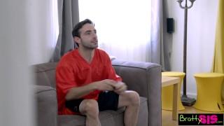 Bratty Sis Teases StepBro Till He Fucks S6:E9 Tits on