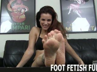 feet porn and femdom foot fetish fantasy videos