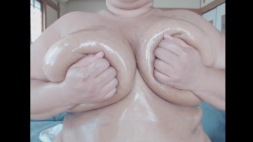 Oiled Breast Massage