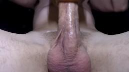 Teasing Big Cock with Fleshlight