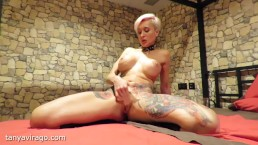 Hot squirt with orgasm in the BDSM room by Tanya Virago