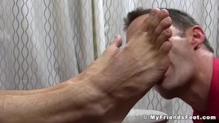 Sucking giamani off sight of wanks hunk to leo toe licking hunk