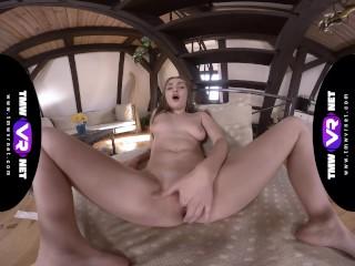 TmwVRnet.com – Lena Reif – College Girl Masturbates All Alone