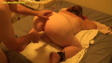 2018-10-05 Master Fucks fuckmeat's Ass BBW BDSM Anal Bondage Slave