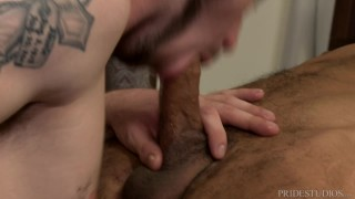 Stress some anal interracial couple relieving young pridestudios fetish handjob