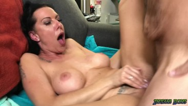 Creampie for German MILF Texas Patti