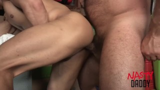 Daddy fucks his son porno