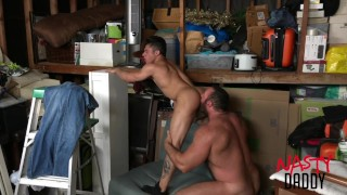Daddy fucks his son Real amateur