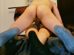 Anal face down and creampie for my submissive