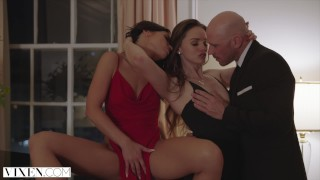VIXEN Tori Black And Adriana Chechik In The HOTTEST Threesome Ever Made Seconds sloppy