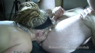 Mama motorcycle cum mouth