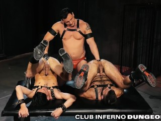 ClubInfernoDungeon Fetish Daddy Fists 2 Boys At The Same Time