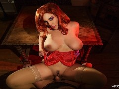VRCosplayX.com XXX TV REDHEADS Compilation In POV Virtual Reality Part 1