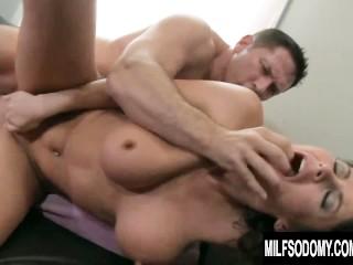 Imagen Súper caliente milf Eva Karera utiliza un consolador antes del sexo anal