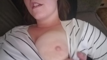 pussy play after work