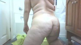 Fresh out the shower and horny