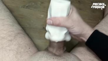 Testing my new pocket pussy