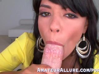 Big Tits Big Booty Blowjob Fuck Cum Swallow