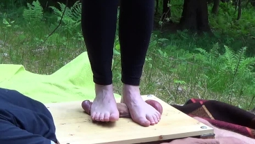 Barefoot CBT in nature - CBT Trampling - part two