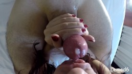 Female POV Love Cock Lollipop Filling in Mouth Totally Swallow