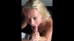 POV Bull Blowjob From Amateur Serena Hot Wife