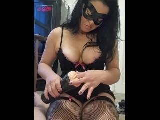 British porn star summer devote deutsche hausfrau - mit natur titten gefesselt im roten catsui