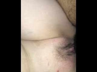 BIG DICK swallowed by CREAMY PUSSY