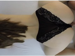 Must watch WEIRD pussy sound / POV doggy creampie 4K by Amateur Couple