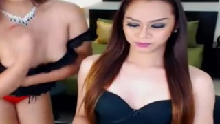 Sexy and hot shemales stroke their big cock Teen asian