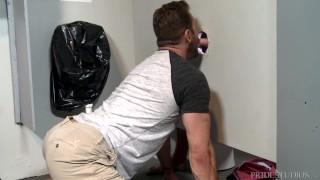 Menover public daddy has on fetish floor bathroom rough sex guys sex
