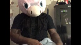 Horny Unicorn Clothed Jerking Off - part 01