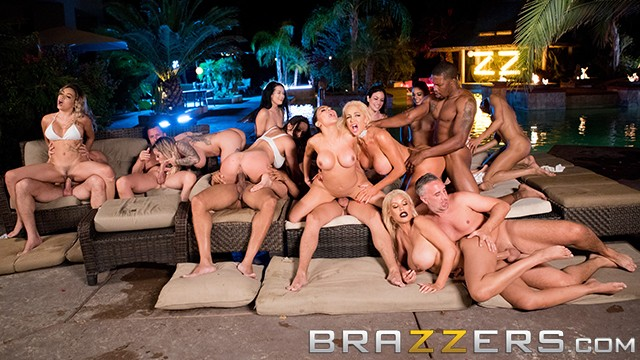 Barkley charles dick vs Brazzers house season 3 ep4 - alexis fawx hosts a filthy sex orgy
