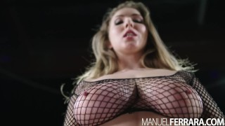 Ferrara bounces big on lena fat manuel's manuel cock paul big big
