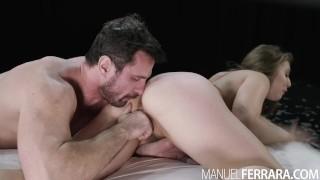 Manuel Ferrara - Lena Paul Bounces On Manuel's Big Fat Cock Ass redhead