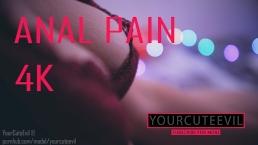 Anal pain homemade pov 4k YourCuteEvil