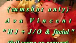 """BBB preview: Ava Vincent """"HJ & J-O & Facial"""" (with slow motion repeat)"""